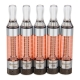 5pc KangerTech T3S eGo BCC Clearomizer
