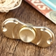 Brass Hand Spinner Fidget Toy dengan Dua Spins - Crescent