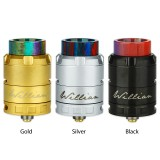 CIGPET ECO RDA - Black & Gold & Silver