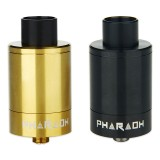 Digiflavor Pharaoh 25 Dripper Tank - Black & Gold