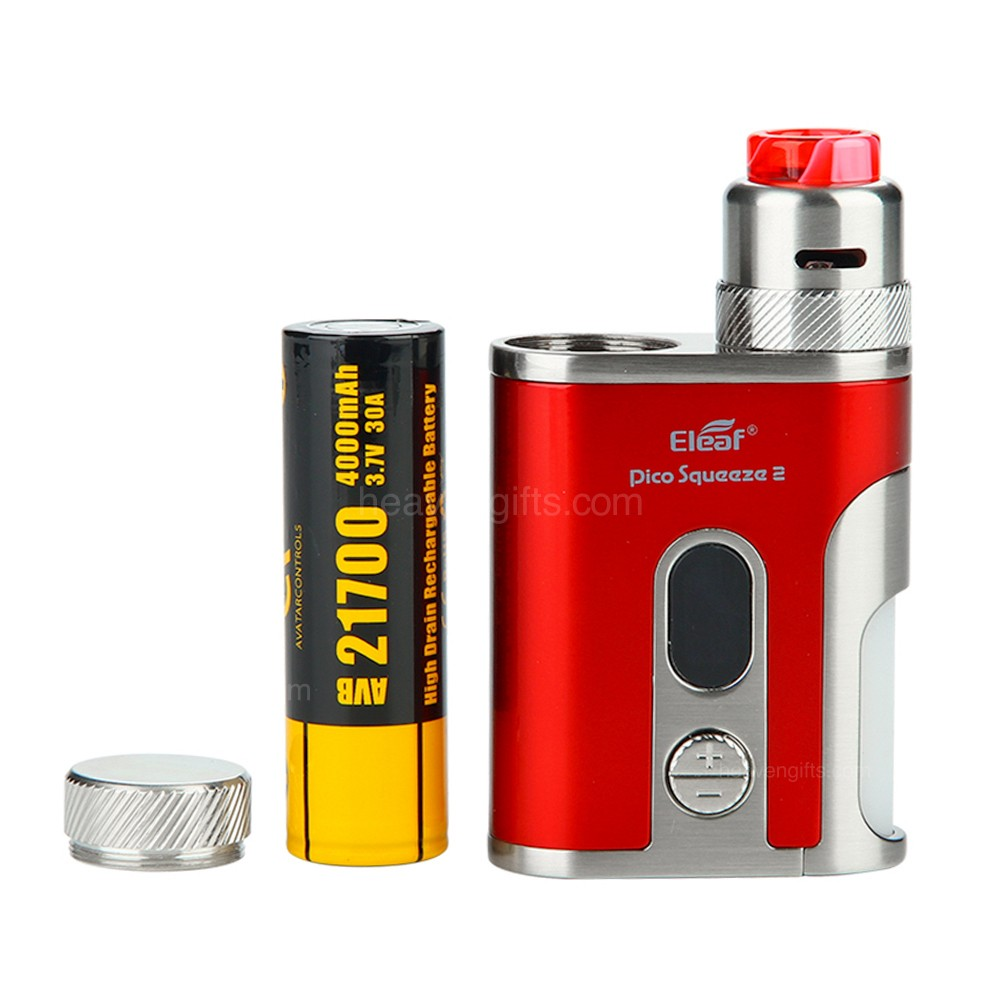 Eleaf Istick Pico Squeeze 2 100w Squonk Kit With Coral 2