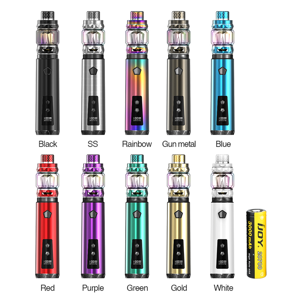 IJOY Saber 100 20700 VW Kit 3000mAh(Gold, 2ml TPD Version)