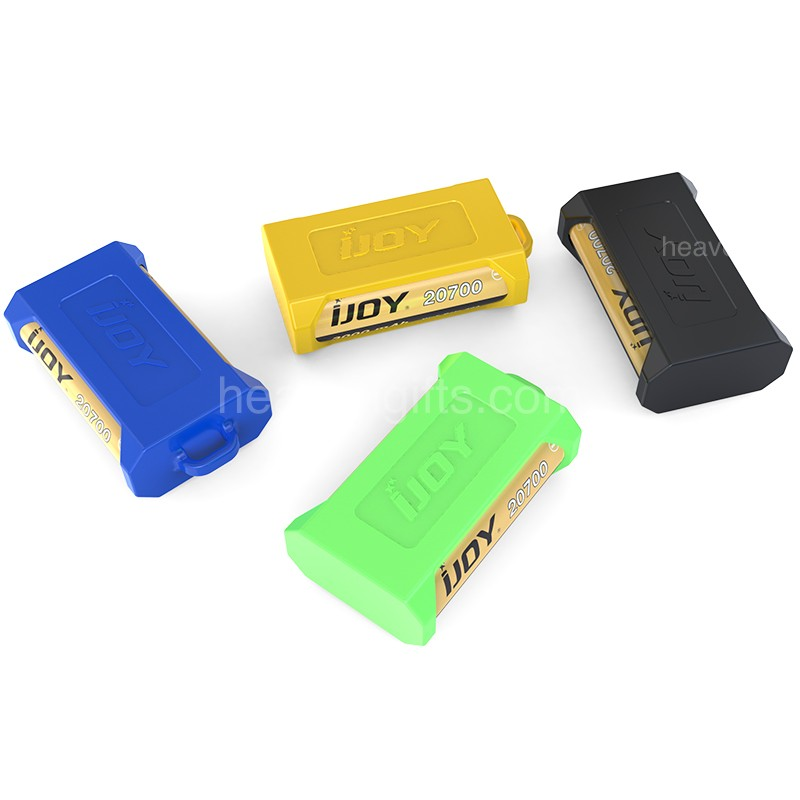 Ijoy Silicone Case For Dual 20700 21700 Batteries