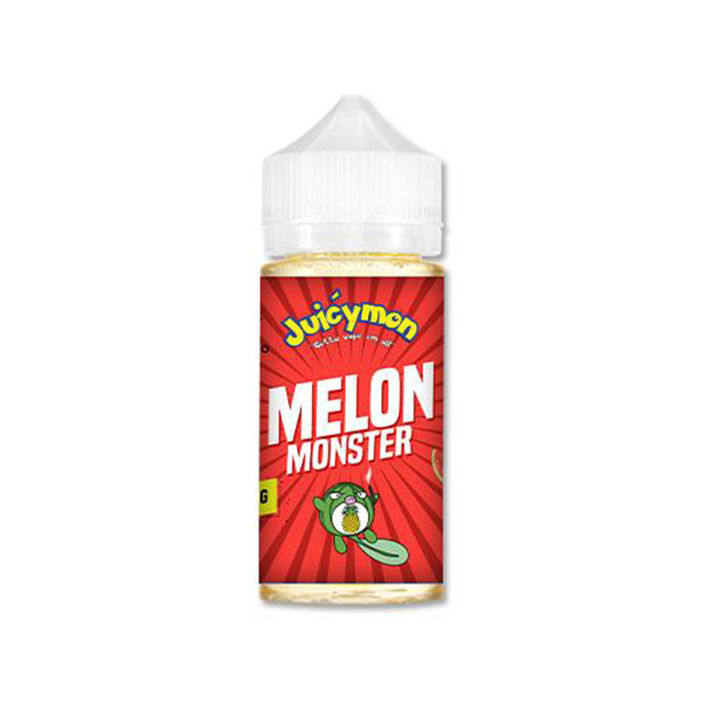 Juicymon Premium PG+VG E-liquid E-juice 100ml(Melon Monster,