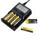 Nitecore Intellicharger SC4 Li-ion/NiMH Battery 4-slot Charger