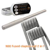 [Pre-order] 8pcs GeekVape N80 Fused Clapton Coil 2 In 1