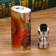 Arctic Dolphin Arthur 80W Stabilized Wood MOD + GeekVape Illusion Mini Tank