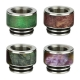 Arctic Dolphin Stabilized Wood Drip Tip 810 A10