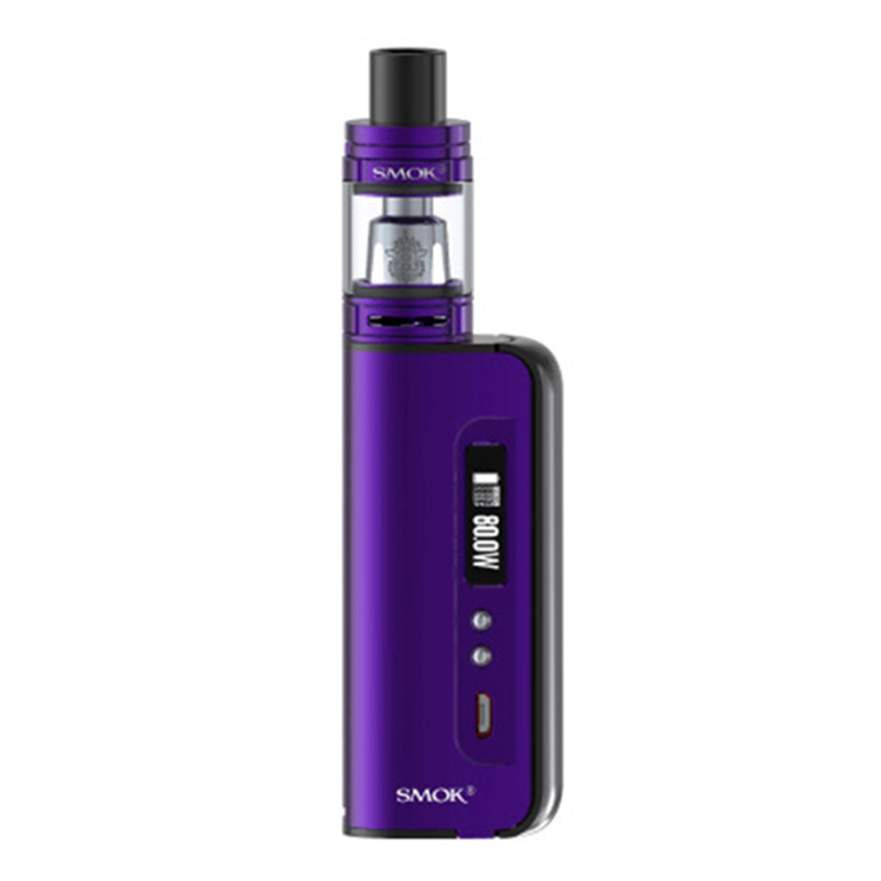 [Pre-order] SMOK OSUB 80W Baby TC Kit with TFV8 Baby W/O Battery - Purple Black