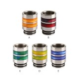 Stainless Steel Resin Ring 810 Drip Tip 0271