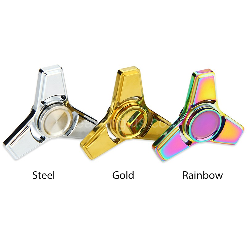 V2 EDC Triangle Hand Fid Spinner Focus Toy with Hybrid Ceramic