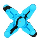 Vapesoon Silicone Hand Spinner Fidget Toy with Four Spins