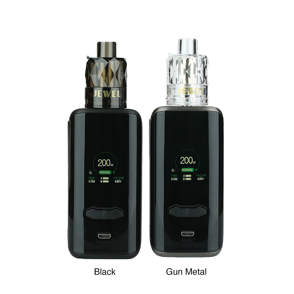 [With Warnings] AUGVAPE VX200 TC Kit with Disposable Jewel Tank