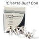 5pc Unit Dual Coil Replceable untuk Innokin iClear 16 Clearomizer