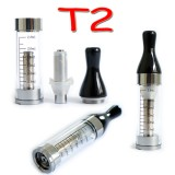 5pcs T2 2.4ml CC (Coil Changeable) clear cartomizer / clearomizer