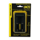 Nitecore Intellicharger UM20 LCD Li-ion Battery Charger