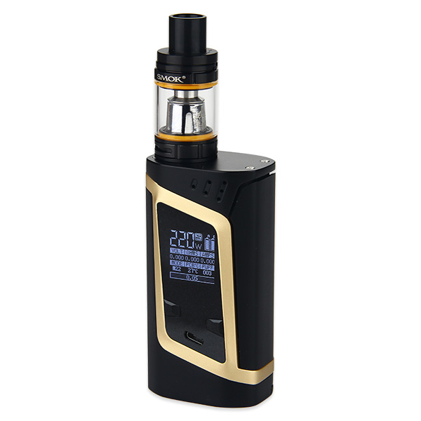 SMOK Alien 220W Kit with TFV8 Baby(Champagne Gold, Standard Edition)