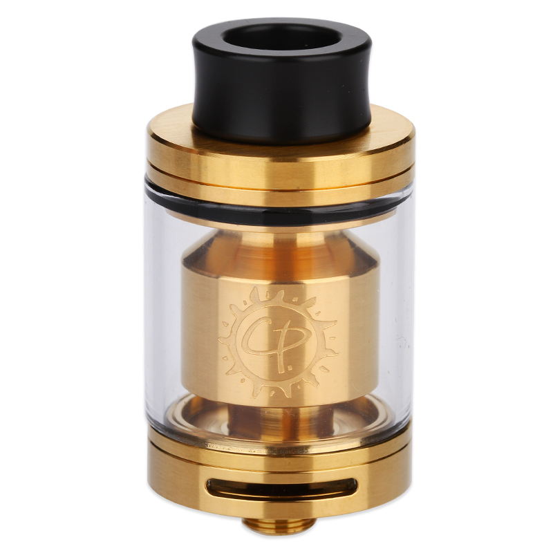 Image of Advken CP RTA with 810 Drip Tip 2.5ml(Gold, TPD-English Version)