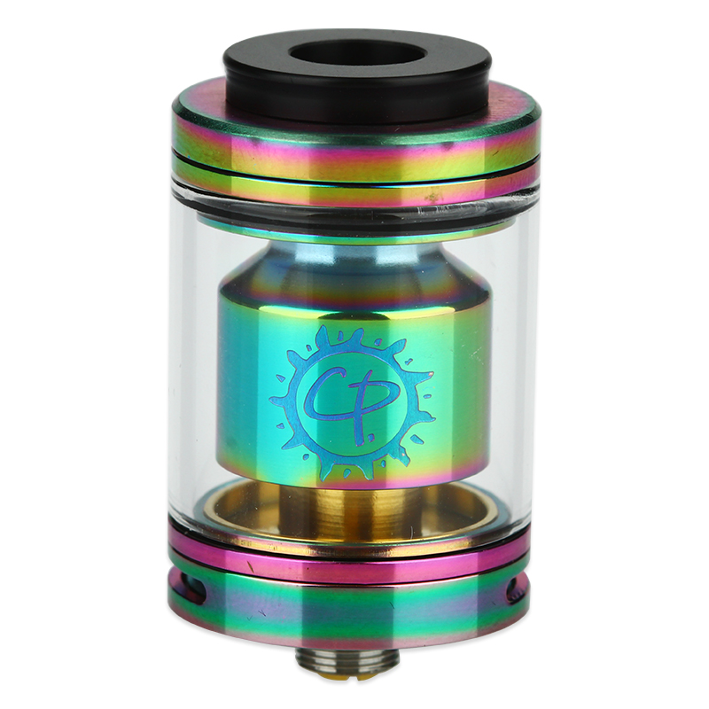 Image of Advken CP RTA with 810 Drip Tip 2.5ml(Rainbow, TPD-English Version)