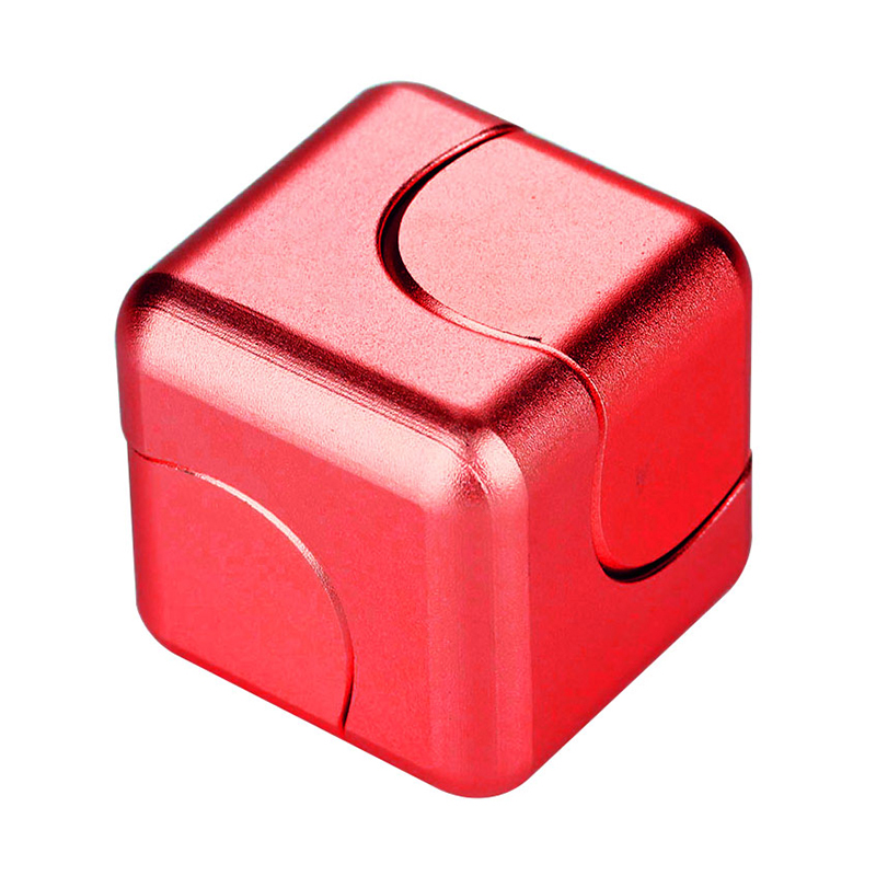 Square Magic EDC Hand Spinner(Red)
