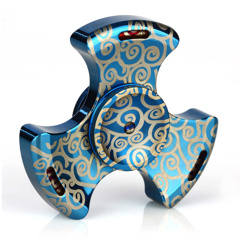 Clouds Hand Spinner Fidget Toy(Blue)