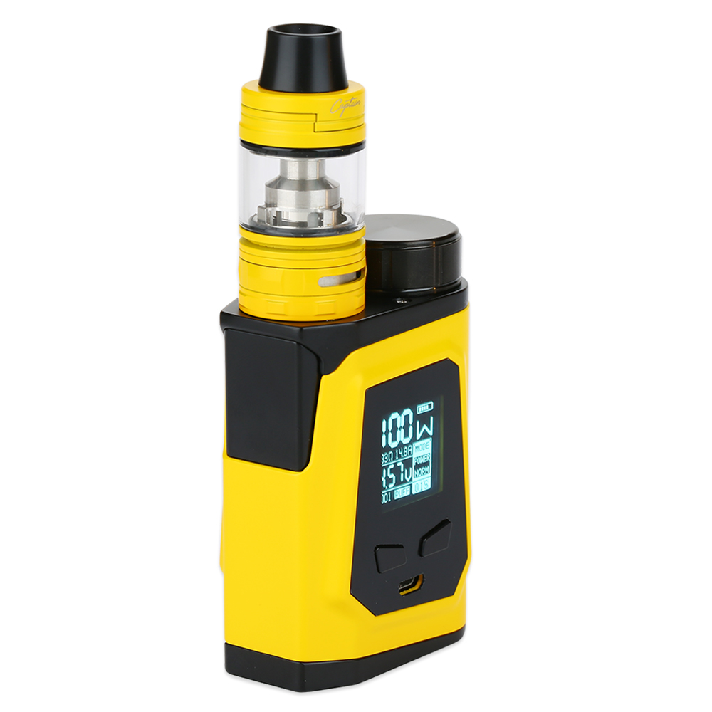 IJOY CAPO 100 with Captain Mini