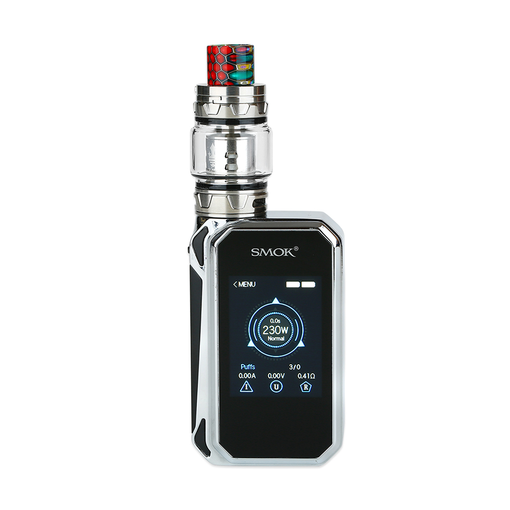 SMOK G-PRIV 2 230W with TFV12 Prince Kit Luxe Edition(Prism Chrome, Standard Edition)