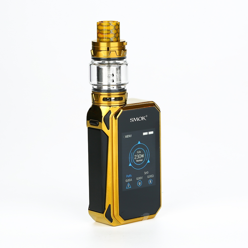 SMOK G-PRIV 2 230W with TFV12 Prince Kit Luxe Edition(Prism Gold, Standard Edition)