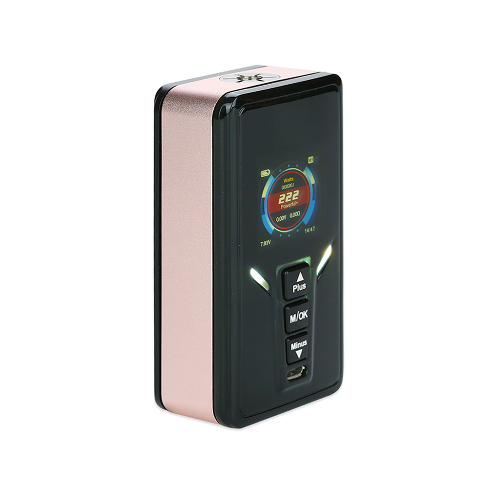 GTRS VBOY 222W 20700 TC Box MOD with SX520 Chip(Rose Gold)