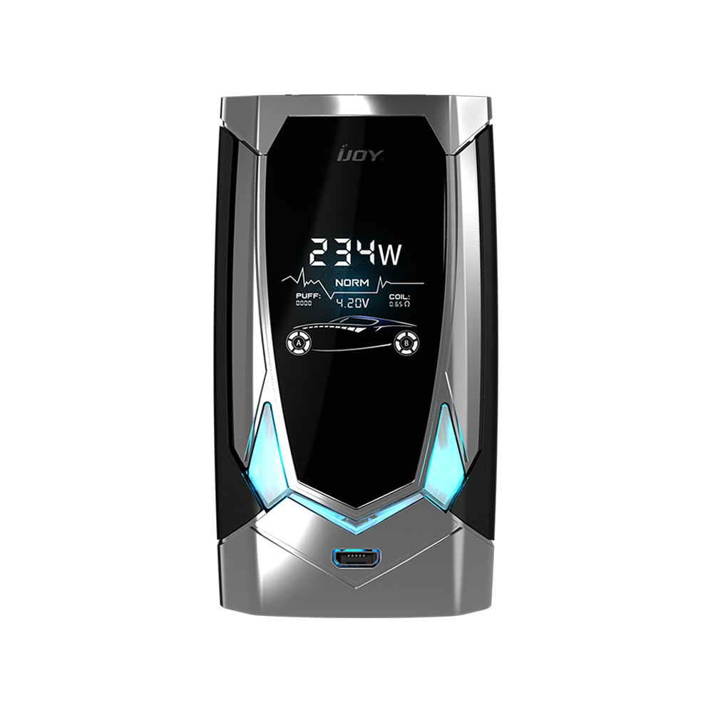 IJOY Avenger 270 234W Voice Control TC Box MOD 6000mAh(Mirror Silver, Standard Edition)