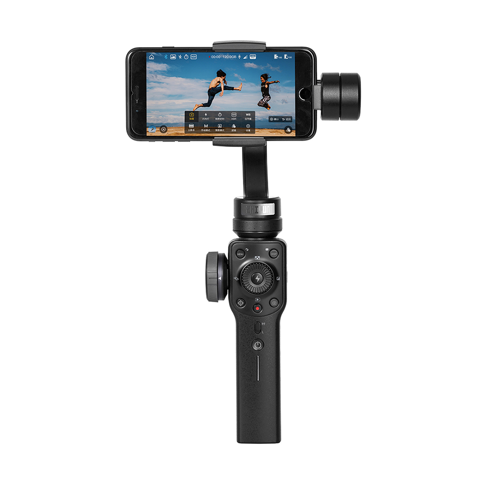 Zhiyun Smooth 4 3-Axis Handhelp Gimbal Stabilizer for Smartphone 4000mAh(Black)