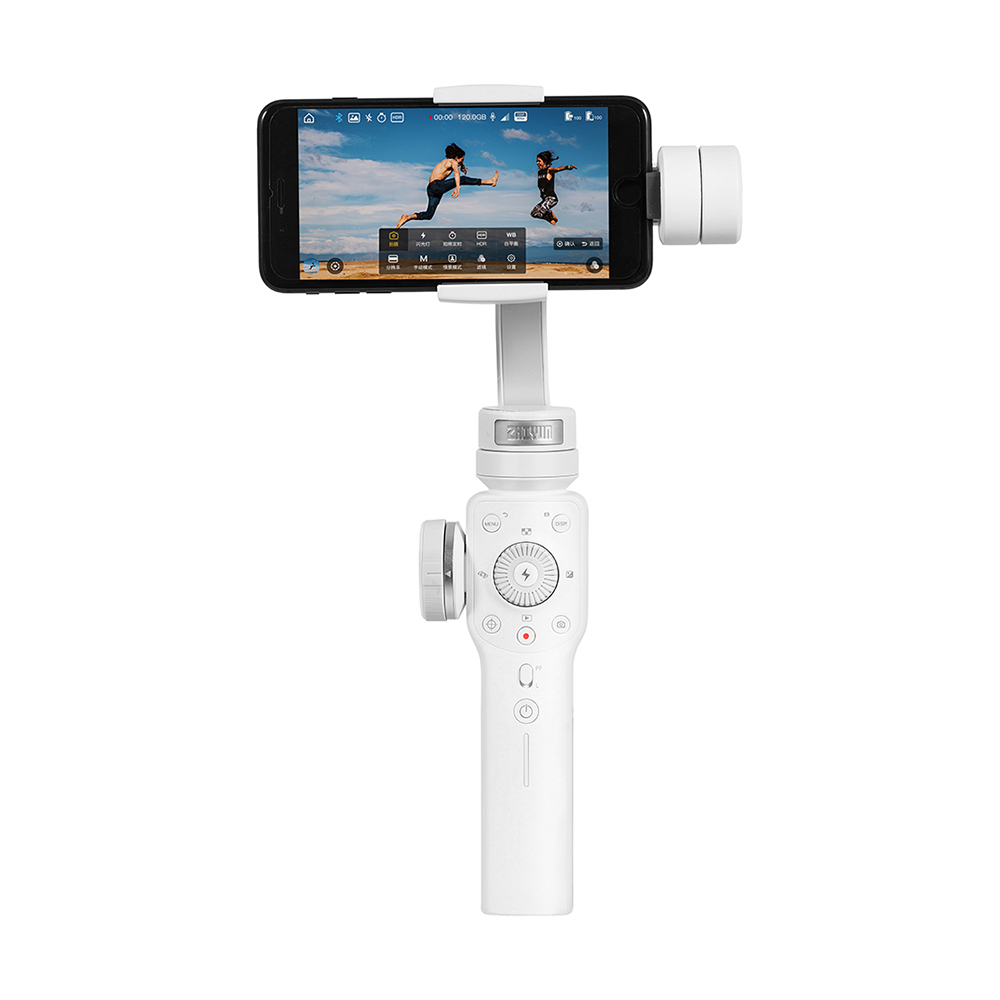 Zhiyun Smooth 4 3-Axis Handhelp Gimbal Stabilizer for Smartphone 4000mAh(White)