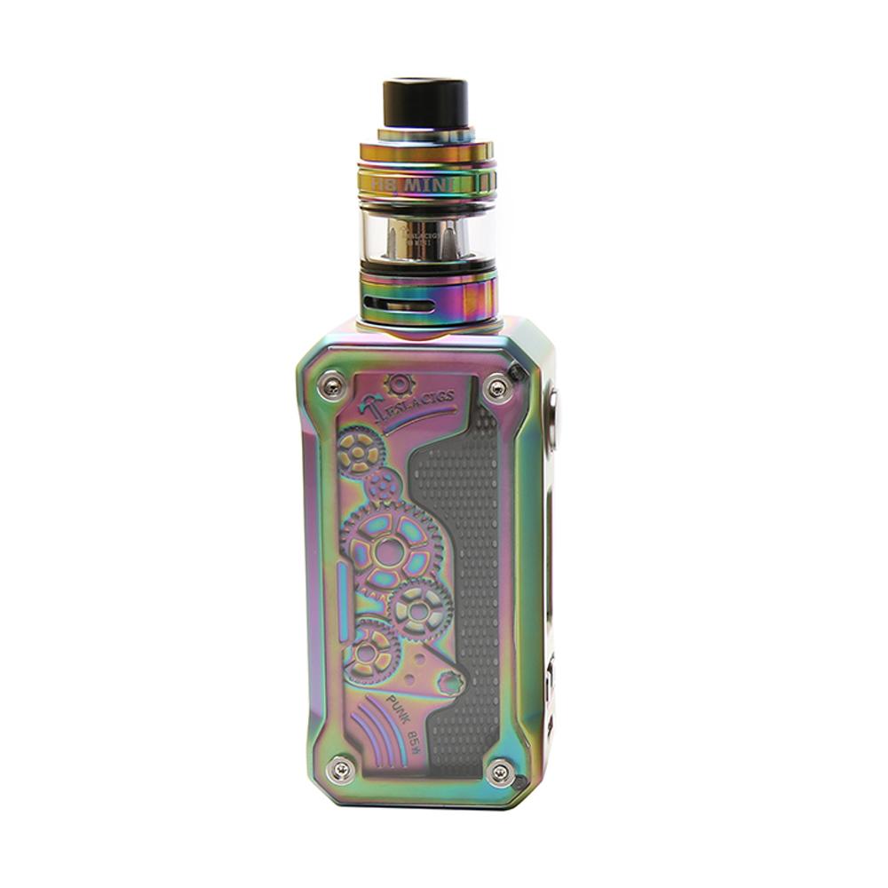 Tesla Punk 85W TC Kit with H8 Mini Tank(7-Color)