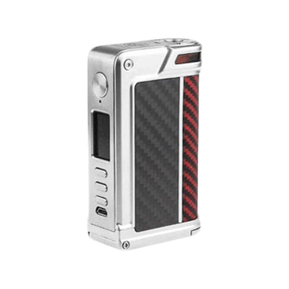 Lost Vape Paranormal 200W DNA250C TC Box MOD(Standard Version ( Rose Wood + Carbon Fiber ), Silver(Red Black Kevlar))