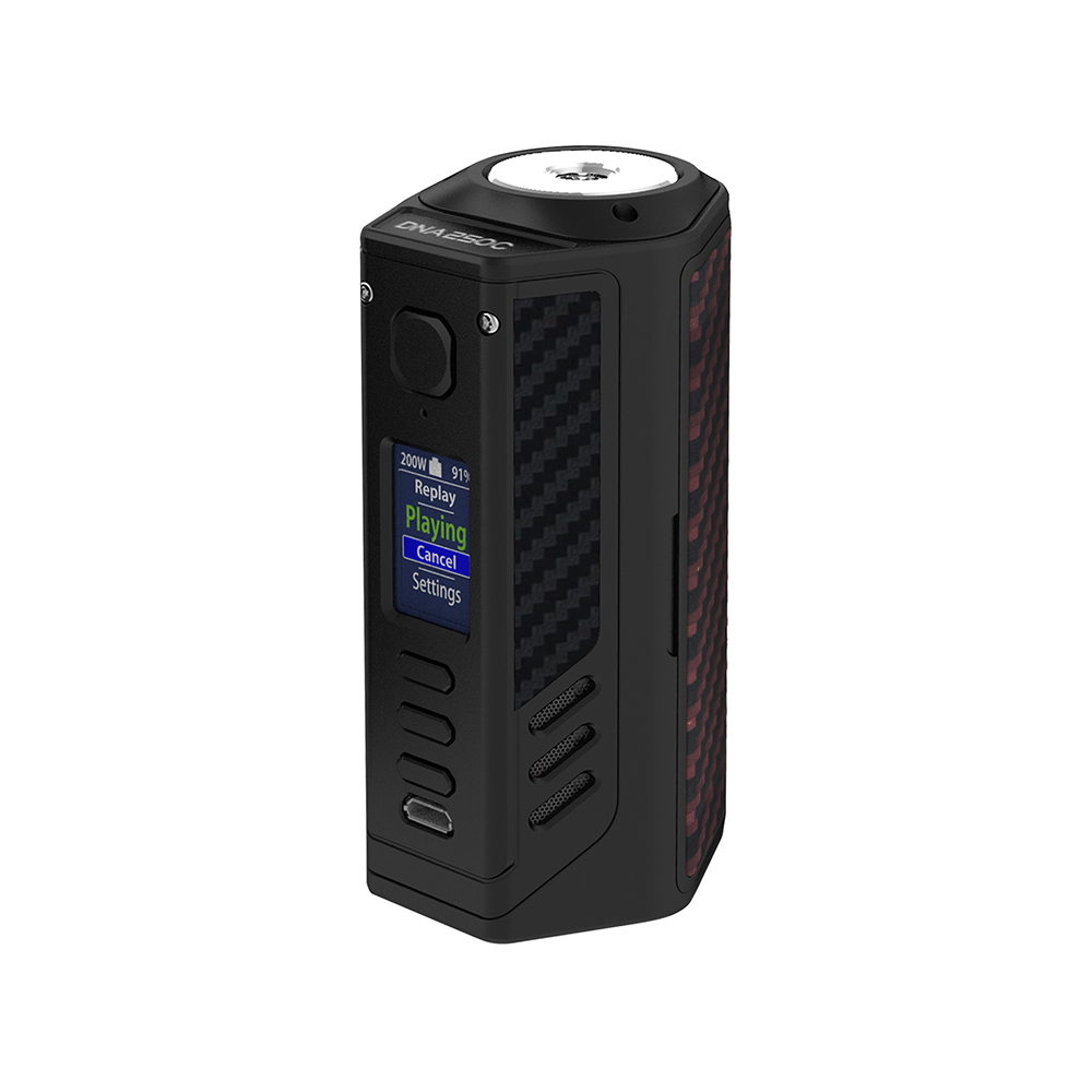 Lost Vape Triade 300W DNA250C TC Box MOD(Red Black Kevlar, Black)