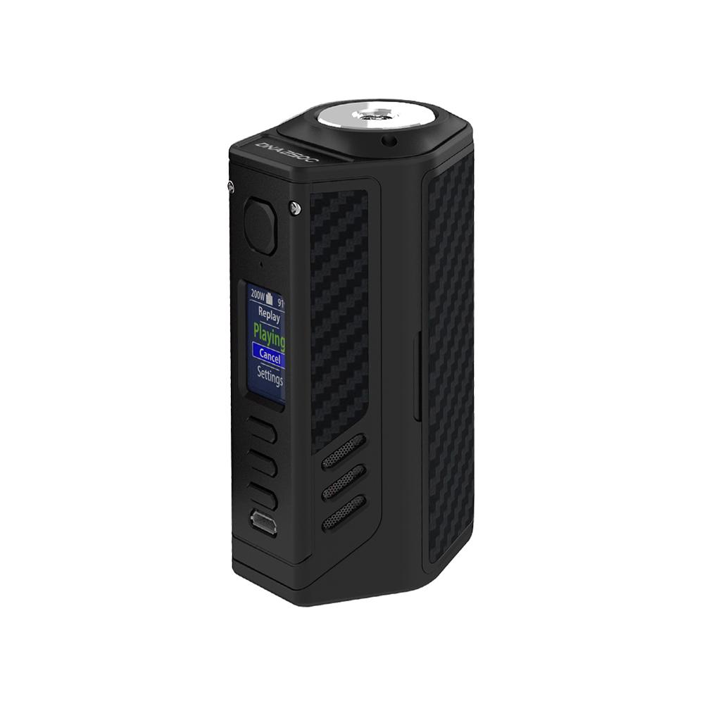 Lost Vape Triade 300W DNA250C TC Box MOD(Black Grey Kevlar, Black)