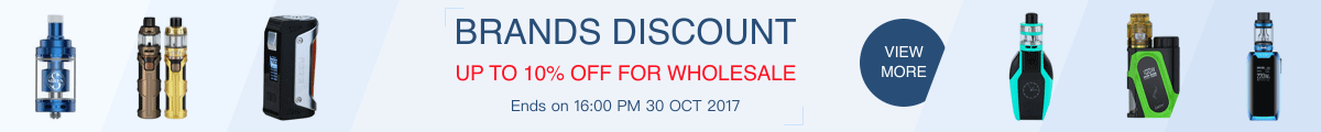 Brands discount - up to 10% off for wholesale